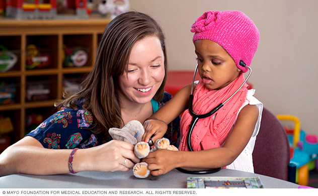 Children with sleep disorders receive help at Mayo Clinic.