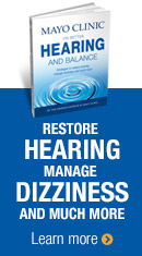 Mayo Clinic on Better Hearing Balance